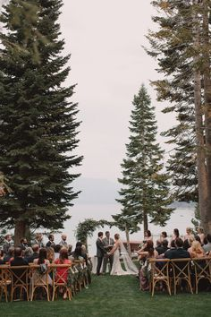 Lake Tahoe Private Estate Wedding from Elise Events