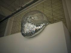 melting disco ball