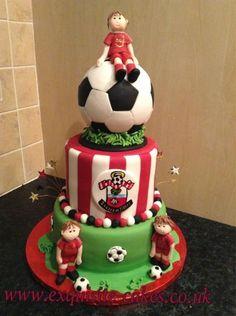 Southampton Football club cake