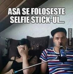 Selfie Stick, Memes, Funny, Cards, Romania, Fictional Characters, Drink, Beverage, Meme