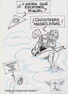Historia Urbana de Madrid: Los restos de Miguel de Cervantes Saavedra