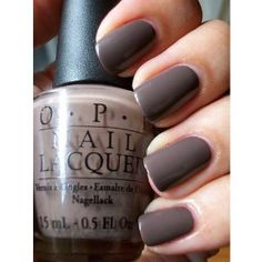 """You dont know Jacques!"" Nail polish by OPI. - ""You dont know Jacques!"" Nail polish by OPI. Opi Nail Colors, Fall Nail Colors, Nail Colour, Manicure, Mani Pedi, Opi Nail Polish, Opi Nails, Gray Polish, Cute Nails"