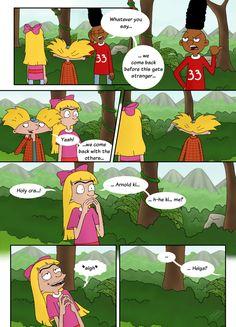 'Whatever you say...' - Hey Arnold by Koizumi-Marichan.deviantart.com on @deviantART