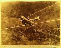 A French SPAD S.XVI two-seat biplane reconnaissance aircraft, flying over Compeign Sector, France, 1918