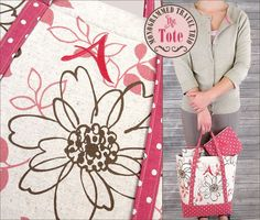 Loving this fabulous tutorials done by our friends at Sew4Home! Today they have a tutorial on how to make this monogrammed travel set, starting with the large tote! They featured Aurifil 50wt thread for the machine embroidery.   For the full tutorial,please visit: http://www.sew4home.com/projects/storage-solutions/monogrammed-travel-trio-tote-janome-america