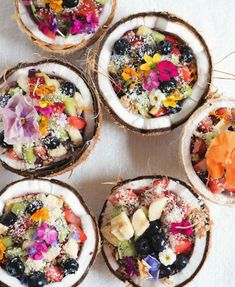 Diet Tips Eat Stop Eat - Food and Drink: From salty to sweet, check out these healthy summe. In Just One Day This Simple Strategy Frees You From Complicated Diet Rules - And Eliminates Rebound Weight Gain Stop Eating, Clean Eating, Coconut Bowl, Coconut Shell, Toasted Coconut, Shredded Coconut, Healthy Snacks, Healthy Recipes, Coconut Recipes