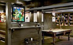 Barn Light Chandelier for a London Style Basement Pub