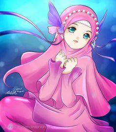 Image result for muslim girl cartoon picture