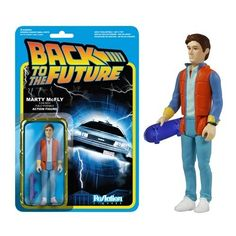 Funko Back to the Future Marty McFly ReAction 3 3/4-Inch Retro Action Figure