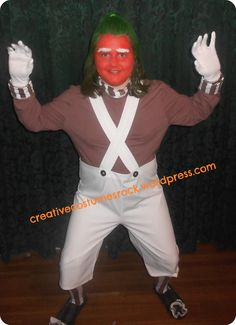 Oompa Loompa - 1 ... DIY creative costumes