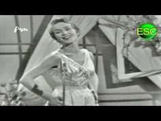 ▶ ESC 1958 04 - Luxembourg - Solange Berry - Un Grand Amour - YouTube