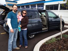 Devin and Tiffany Lake in their new 2006 Honda Odyssey from Daniel Moreno at Garber Pre-Owned Super Center!