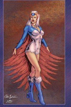Sorceress of Grayskull - Art by Enza Fontana and colour by Jukka Issakainen.