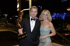 Lookie here! It's Emilie with her cousin Andrew Wesley, otherwise known as Julianne and Derek Hough.