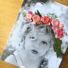 Hand embroidered photo canvas of personal photo on high quality canvas Paper Embroidery, Silk Ribbon Embroidery, Cross Stitch Embroidery, Portrait Embroidery, Photos Onto Canvas, Hanging Canvas, Idee Diy, Foto Art, Diy Canvas
