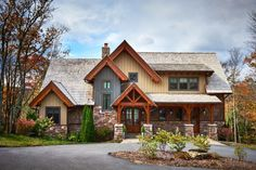 House Plan 8504-00009 - Mountain Rustic  Plan: 2,379 Square Feet, 3 Bedrooms, 2.5 Bathrooms