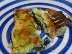 Zucchini and Kale Frittata recipe. It's amazing!