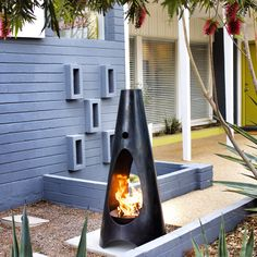 I'm in a Mid-Century state of mind...#modern #modfire #midcentury #wood#woodburning##outdoorfireplace #modernfireplace #localaz #liveyourdream #dreambig #dwell #design