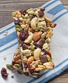Sweet, salty, tart, and crunchy – these chunky treats have got it going on, like your favorite trail mix in bar form.  Get the recipe from Love and Zest »  - GoodHousekeeping.com
