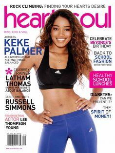 Keke Palmer Sizzles On Cover Of Heart & Soul Magazine! - http://chicagofabulousblog.com/2013/09/28/keke-palmer-sizzles-on-cover-of-heart-soul-magazine/