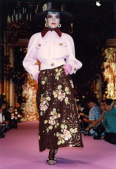 Christian Lacroix Haute Couture Fall-Winter 1989   by Christian_Lacroix