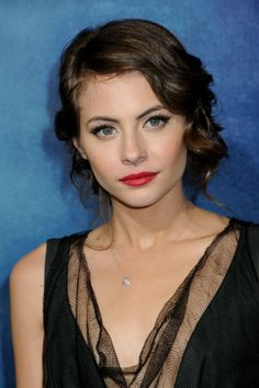Willa Holland-Old Hollywood Makeup