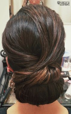 Sleek updo by Janny Dangerous