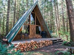 New+Rental!+Modern+A-frame+in+wooded+wonderland+++Vacation Rental in Mount Rainier from @homeaway! #vacation #rental #travel #homeaway