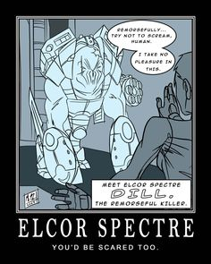 If only! #MassEffect #Elcor
