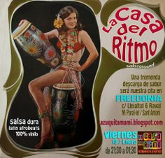 La Casa del Ritmo fiestón para bailar | Zurda Magazine http://www.zurdamagazine.com/agenda/7517/