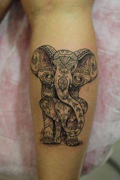 75 Big and Small Elephant Tattoo Ideas - Brighter Craft - - . - 75 Big and Small Elephant Tattoo Ideas – Brighter Craft – – … – 75 big - Mommy Tattoos, Mother Tattoos, Baby Tattoos, Body Art Tattoos, Tatoos, Ink Tattoos, Mandala Elefant Tattoo, Mandala Arm Tattoo, Animal Mandala Tattoo