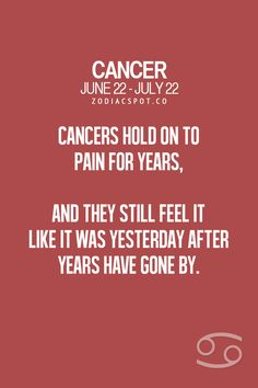 Astrology cancer hookup cancers horoscope birthday