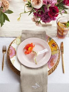 Mothers Day Tea Party Setting & Recipes
