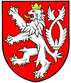 Czech Lion - I might make a mosaic of this