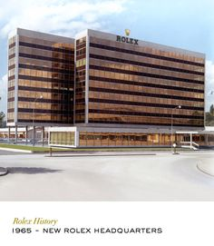 New Rolex headquarters at Acacias, Geneva. #RolexOfficial