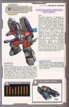 Transformers: Decepticon - Minions of Unicron - Megazarak