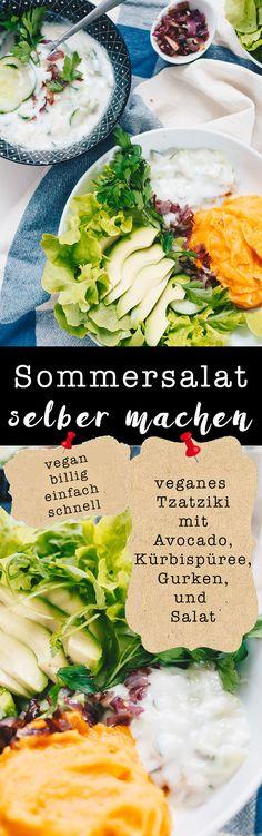 Über das vegane Tzatziki schlechthin und veganen Joghurts ohne Soya auf VANILLAHOLICA.com . Du bist veganer, oder ernährst dich vegan und hast einmal Lust auf richtig gutes Tzatziki ? Wie du griechisch vegan essen kannst, zeig ich dir in folgendem Rezept. Frische Gurken, ein wenig Knoblauch (je nach Belieben), veganer griechischer Joghurt, frische Kräuter und schon ist ein veganes Sommerrezept im Kasten. Dazu kommen ein paar frische Blätter Salat, Avocado und karamellisierte Zwiebeln.