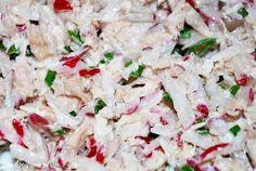 i - super zestawienie :) Pasta Salad, Potato Salad, Salads, Food And Drink, Lunch, Ethnic Recipes, Recepta, Diet, Crab Pasta Salad