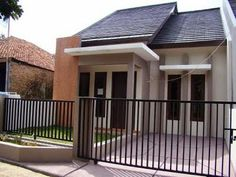 One of the design houses that are currently popular is a minimalist house design. Minimalist house a variety of models . Paint Colors For Home, Minimalist Home, House Exterior, Simple House, Exterior Brick, Beautiful Small Homes, House Designs Exterior, Exterior Paint Colors For House, Minimalist House Design
