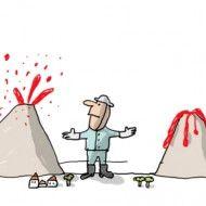 Pourquoi les volcans entrent-ils en éruption ? Volcan Eruption, Science Lessons, Snoopy, Comics, Fictional Characters, Natural Disasters, Volcanoes, Children, Elementary Schools
