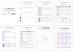The Pro Blogger's Planner 2016. | INSTANT DOWNLOAD Printable Planner