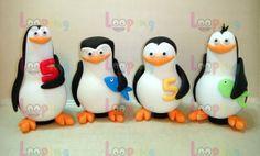 Cofrinhos - Pinguins Madagascar | Looping | Elo7                              …