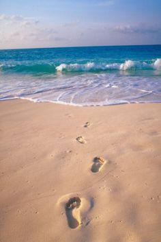 Footprints in the sand www.facebook.com/loveswish