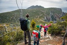 Three Capes Track - Tasmania. Would be amazing experience when the girls are in primary school.