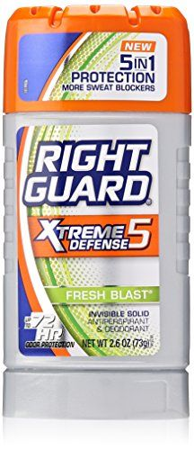 Right Guard Anti-perspirant & Deodorant Invisible Solid, Fresh Blast, 2.6 Oz (Pack of 6)  //Price: $ & FREE Shipping //     #hair #curles #style #haircare #shampoo #makeup #elixir