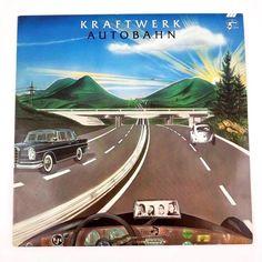 Kraftwerk - Autobahn 1974 (Vinyl, LP, Album) at Discogs Vinyl Lp, Vinyl Records, Rare Vinyl, Lp Cover, Cover Art, Lps, Florian Schneider, Musica Disco, Classic Album Covers