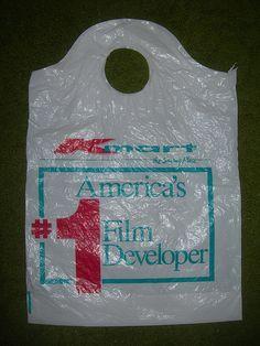 Old Kmart Shopping Bag