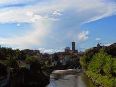 Una bellissima veduta del mio paesino...  #nikon , #bridge , #photo , #fotopaesaggi , #photoview