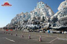 Ice land parking lot Ice Land, Parking Lot, Mount Everest, Mount Rushmore, Mountains, Nature, Travel, Naturaleza, Viajes