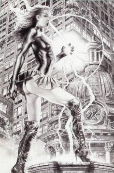 Mary Marvel by Jay Anacleto